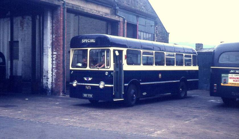 1963 AEC Reliance with Longwell Green B45F body