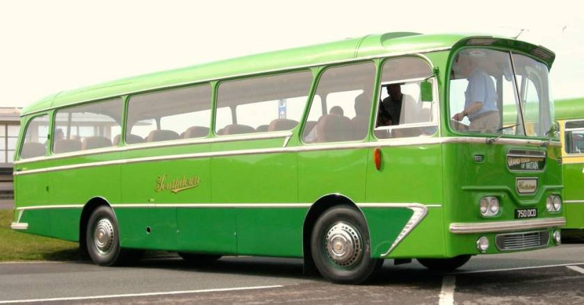 1963 Leyland Leopard L2 fitted with a Harrington Grenadier C28F touring coach body