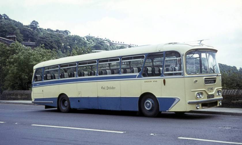 1963 Leyland Leopard PSU3-3RT with Harrington Cavalier 36-foot C44F body