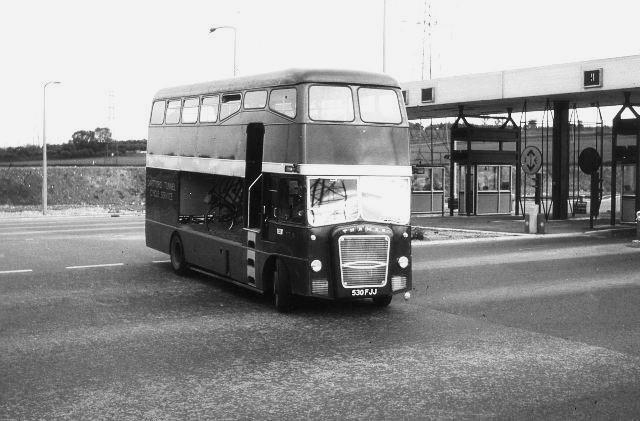 1963 OC14 Strachans Dartford Tun Bus 1963-5