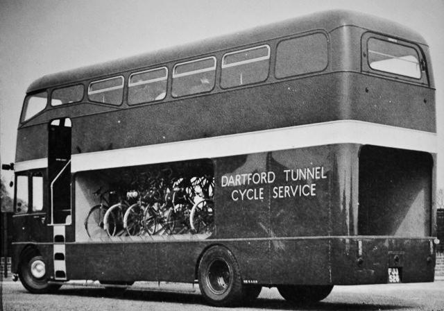 1963 OC14 Strachans Dartford Tunnel Bus