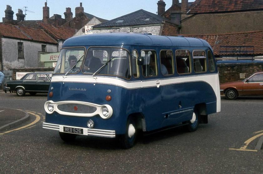 1963 Trojan Taxibus meb626 kings lynn c81 JL