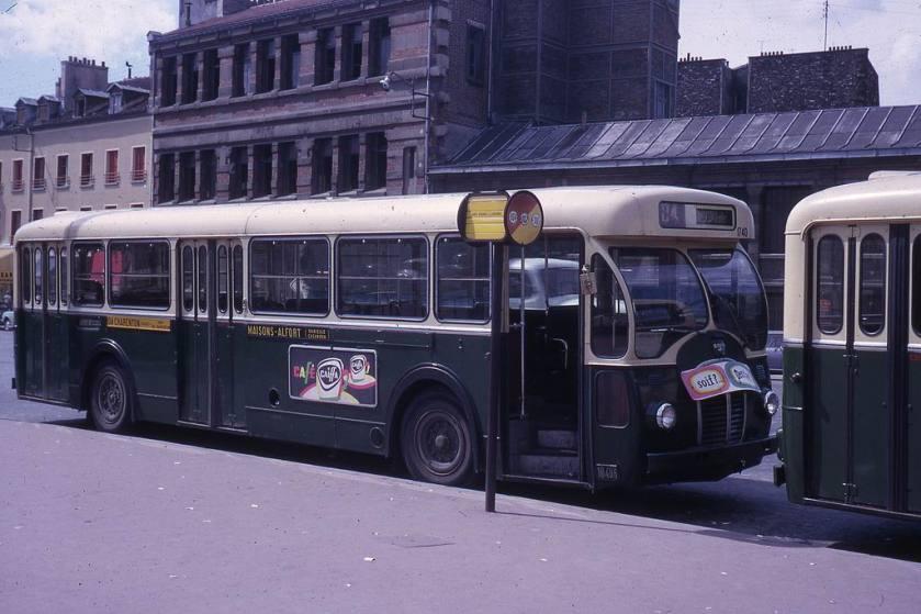 1964-0055 - Paris RATP, autobus Somua