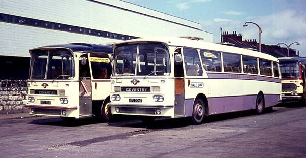 1964 + 65 Harrington Grenadier C51F bodied Leyland PSU3-3R Leopards