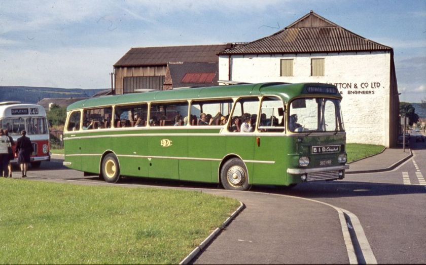1964 A E C Reliance 2U3RA with Harrington Grenadier C51F bodywork