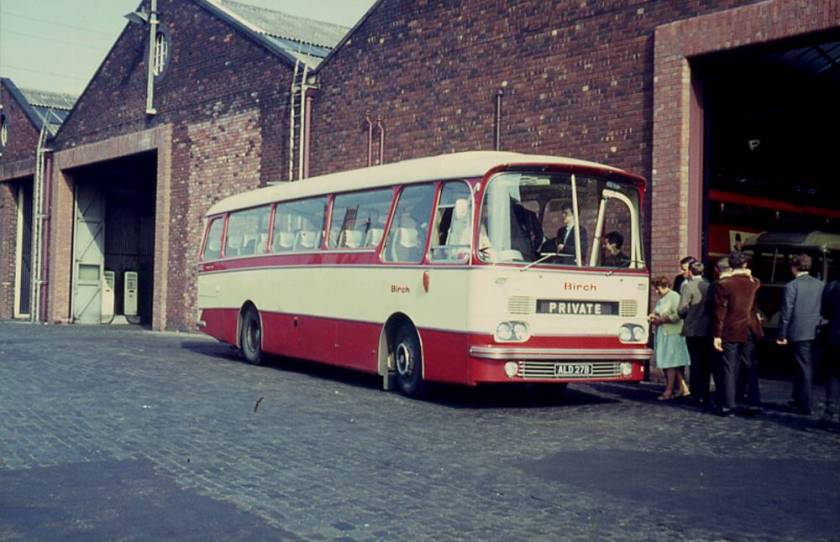 1964 AEC 2MU4RA Reliance with Harrington Grenadier C41F body