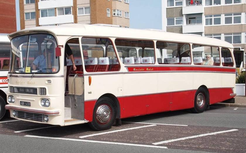 1964 AEC Reliance 2MU3RA with Harrington Grenadier C36F coachwork