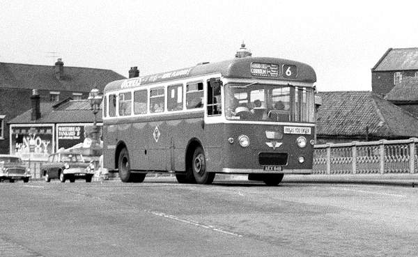 1964 AEC Reliance 2MU3RA with Pennine Coachcraft B39F body