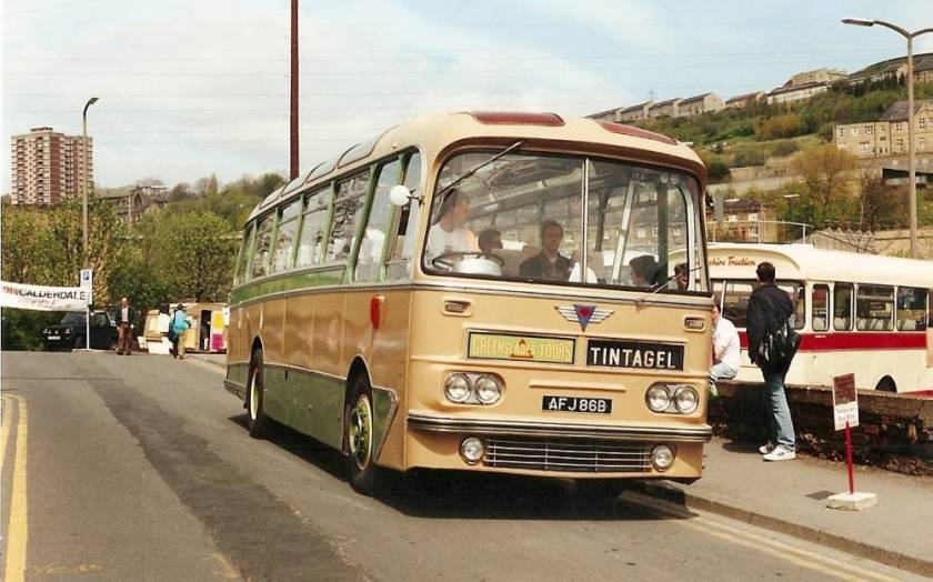 1964 AEC Reliance 2MU4RA with a hybrid Harrington Cavalier 315 body