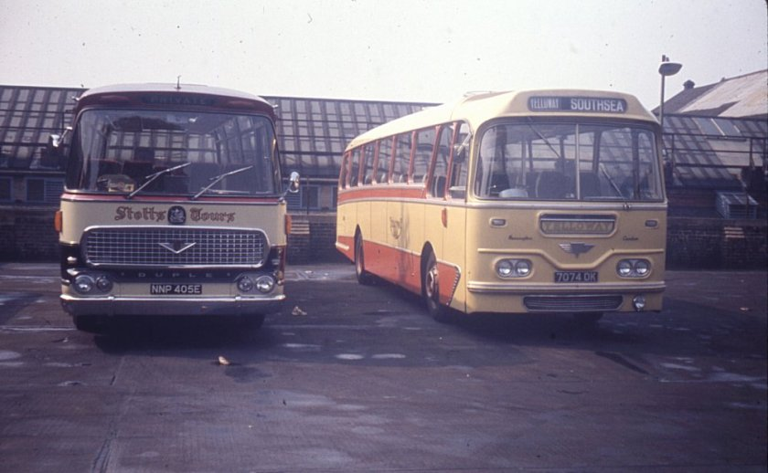 1964 AEC Reliance 4U3RA with Harrington Cavalier C45F bodywork