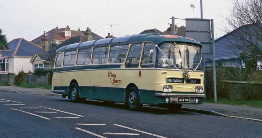 1964 AEC Reliance with a 7'6 Harrington Cavalier C41F body