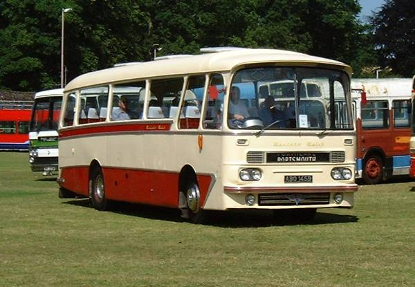 1964 AEC Reliance with Harrington C36F body
