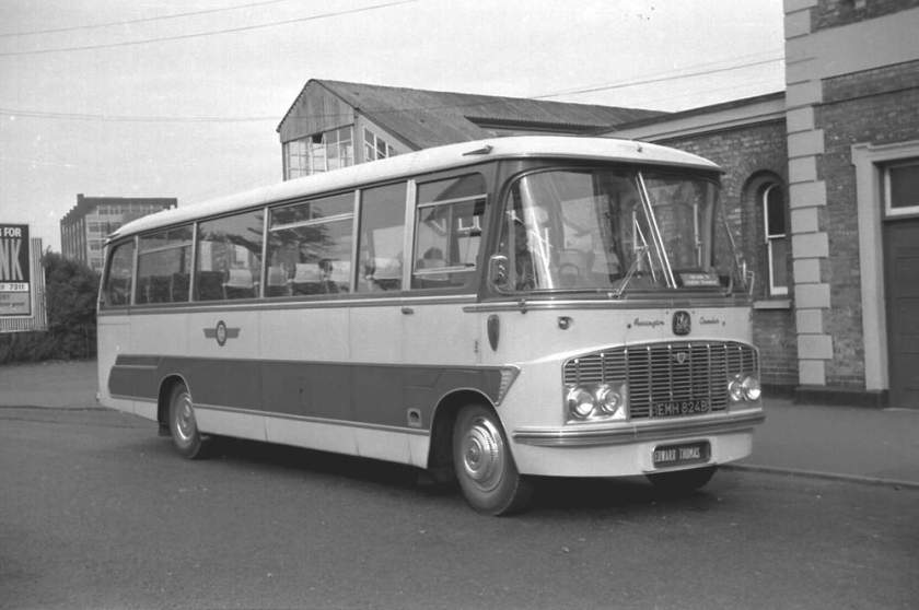 1964 Bedford SB13 with a Harrington Crusader IV C41F body