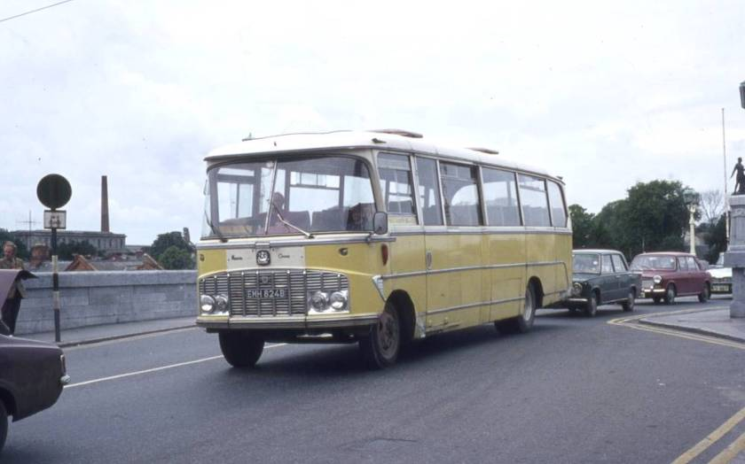 1964 Bedford SB13 with Harrington Crusader C41F bodywork