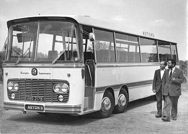 1964 Bedford VAL14 with Harrington Legoinnaire C52F body