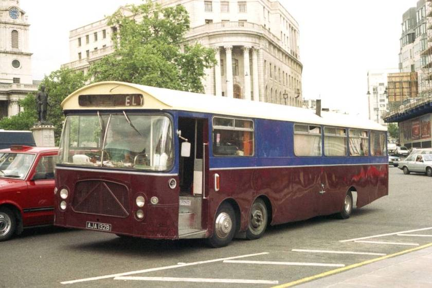 1964 Bedford VAL14 with unusual low-height Strachan B52F bodywork a