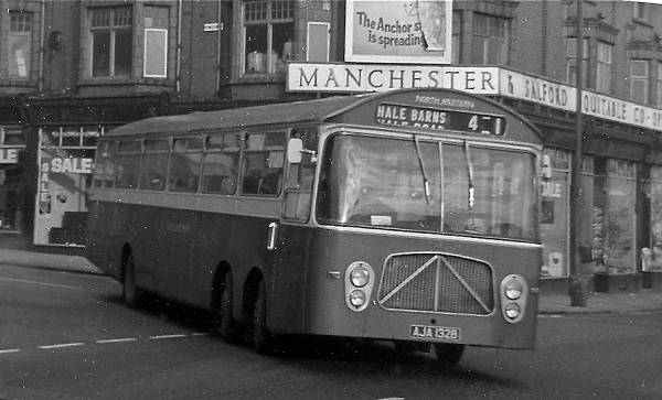 1964 Bedford VAL14 with unusual low-height Strachan B52F bodywork