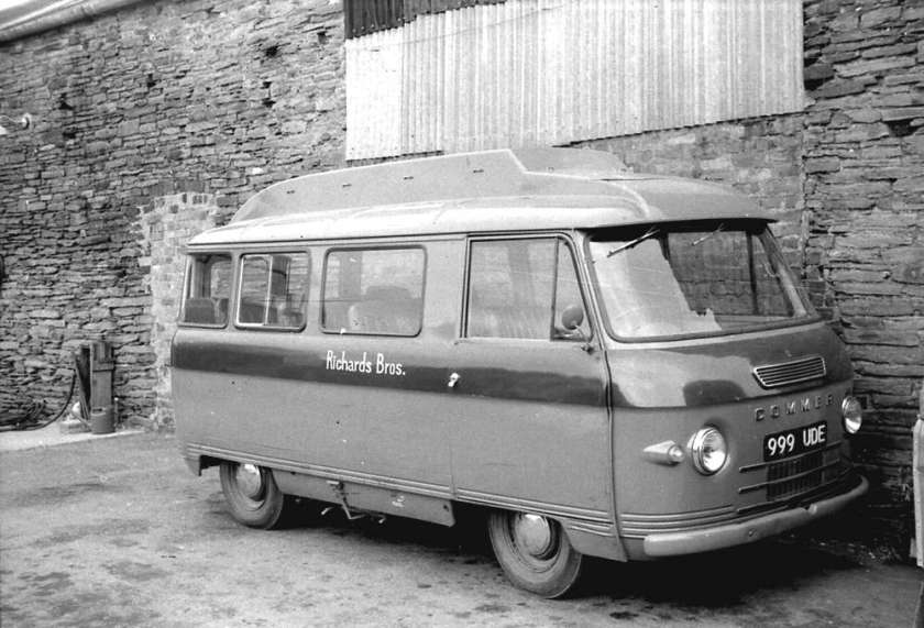 1964 Commer 1500LB with a Harrington B12C body