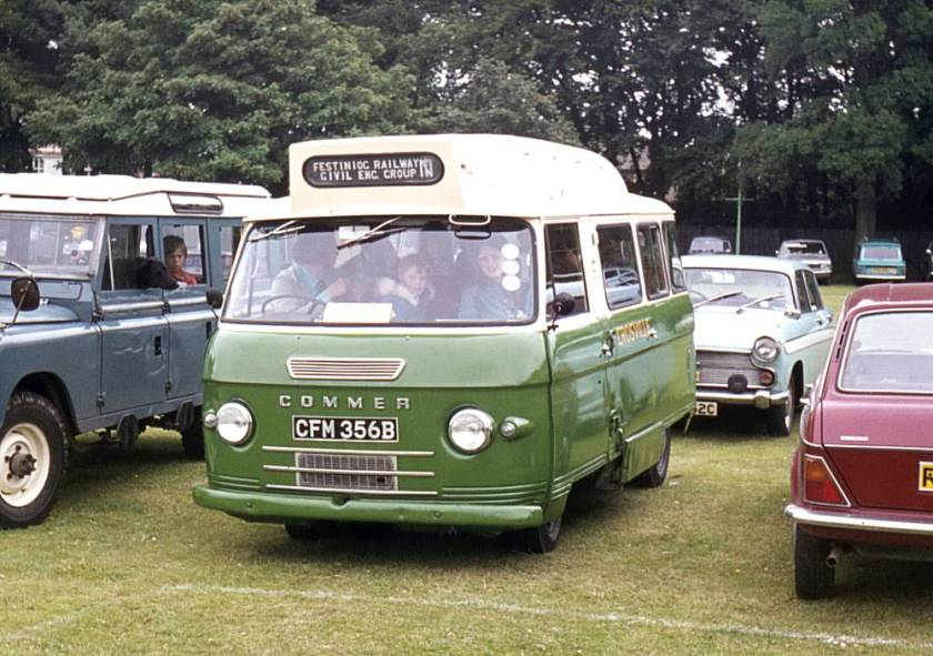 1964 Commer with Harrington B12 bodywork