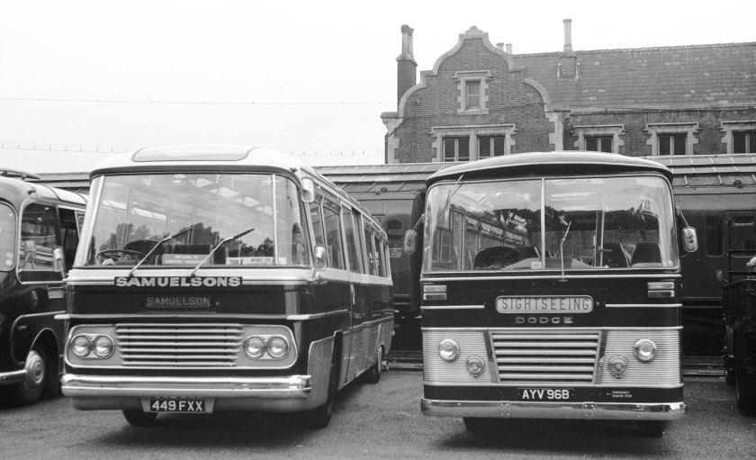 1964 Dodge S307 Strachans C42F in Hampton Court Station Goods Yard
