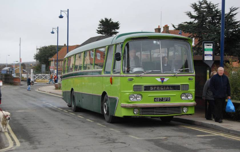 1964 Harrington Grenadier C45F bodied AEC 2U3RA Reliance