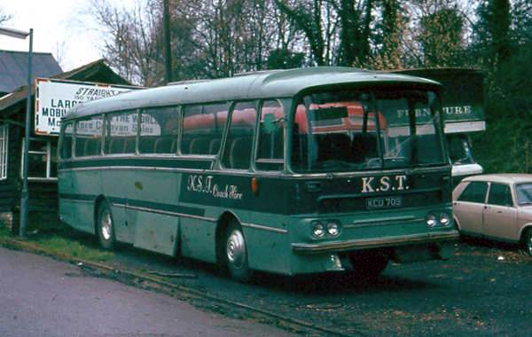 1964 Harrington Grenadier C51F bodied Leyland Leopard, KCU709