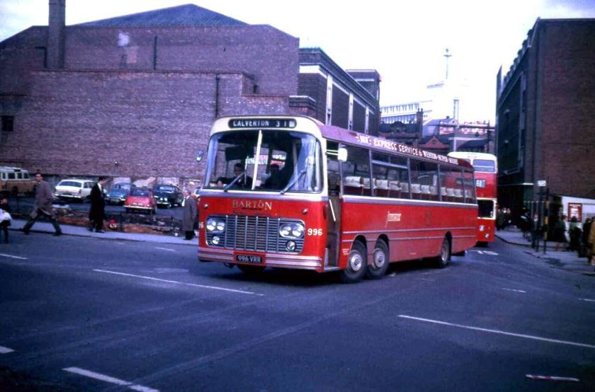 1964 Harrington Legionnaire I C52F bodied Bedford VAL14