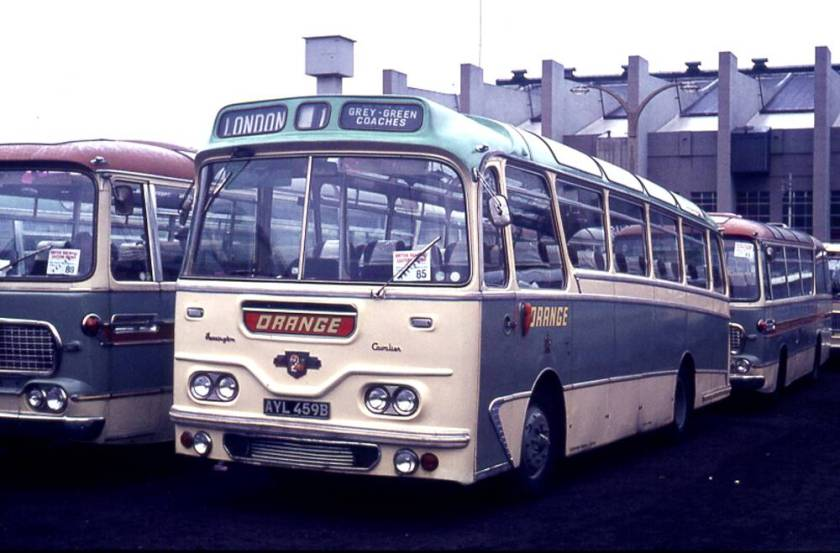 1964 Leyland L2T Leopard with Harrington C41F body
