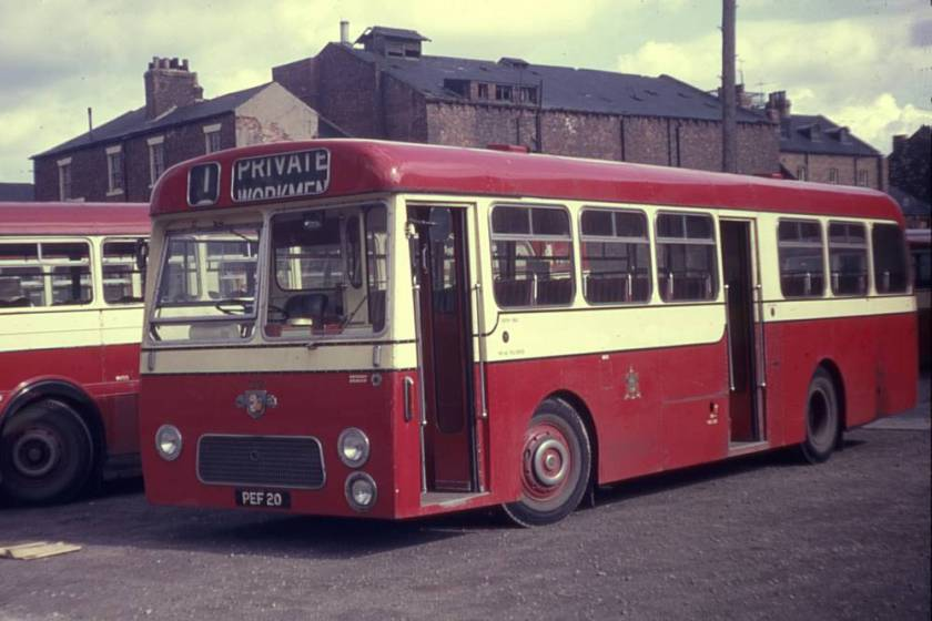 1964 Leyland Leopard L1 with Strachans B45D bodywork