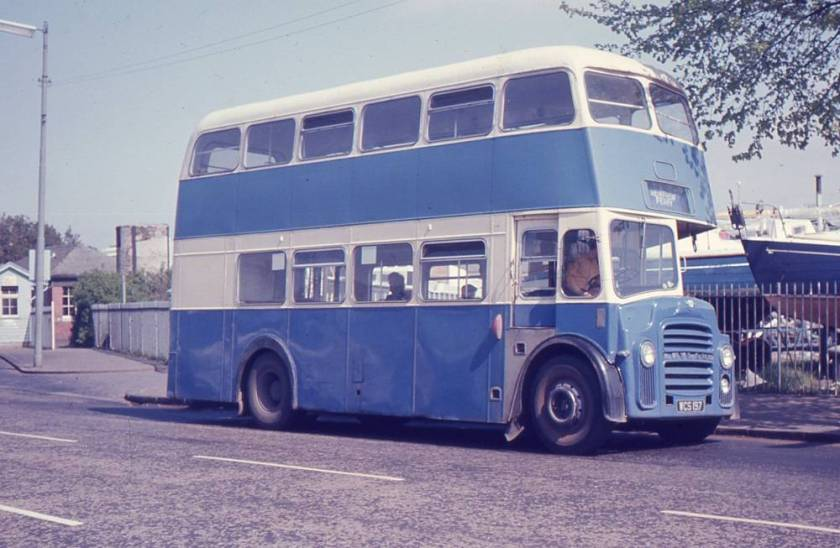 1964 Leyland PD2A-30 with Strachan H35-28RD bodywork