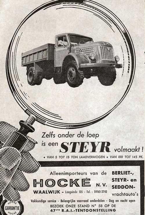 1964 steyr hocke