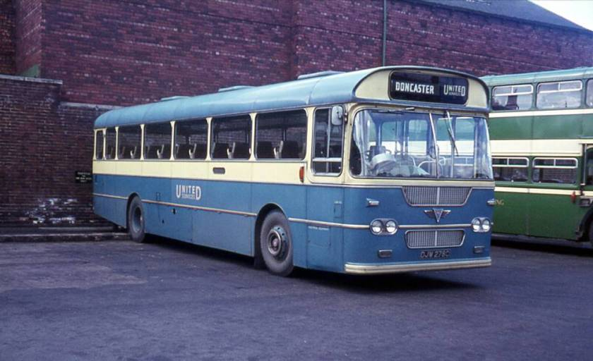 1964 Strachan DP49F bodied AEC 2U3RA Reliance