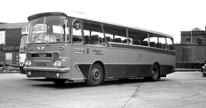 1965 AEC 2MU4RA Reliance with Harrington Grenadier C41F body