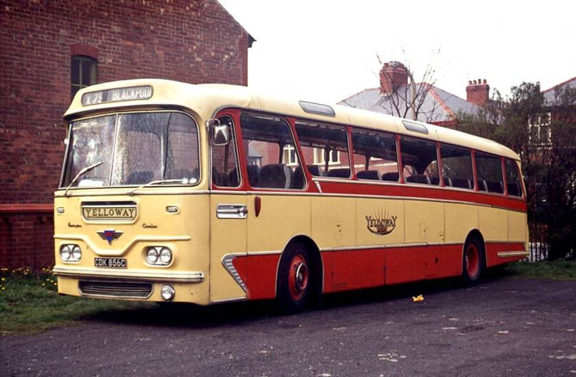 1965 AEC 4U3RA Reliance with Harrington Cavalier 36 body