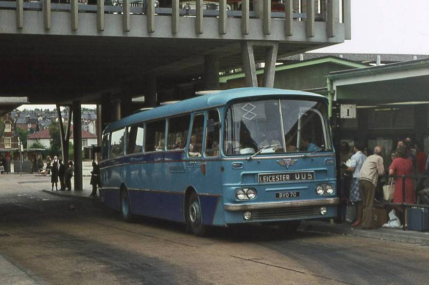 1965 AEC Reliance  Harrington C51F