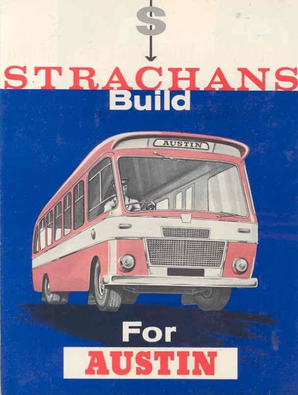 1965 Austin Strachans Bus Sales Brochure