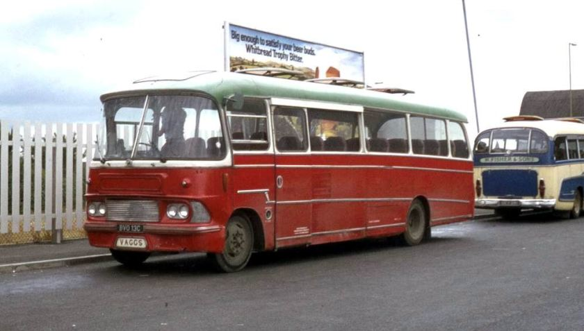 1965 Bedford SB5 with Harrington Crusader C41F bodywork