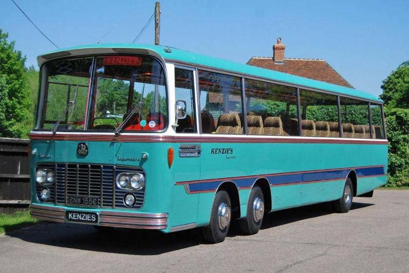 1965 Bedford VAL14 with Harrington Legionnaire body