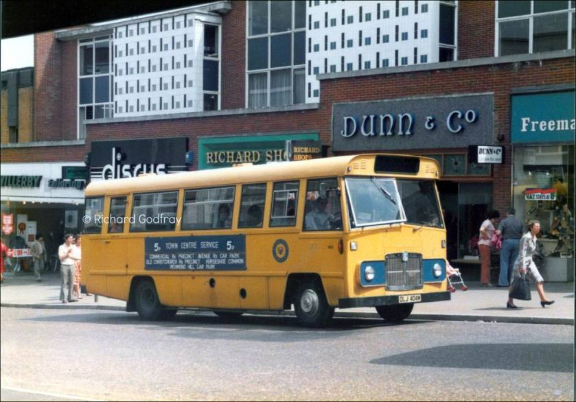 1965 Bournemouth Transport Bedford VAS Strachan M4