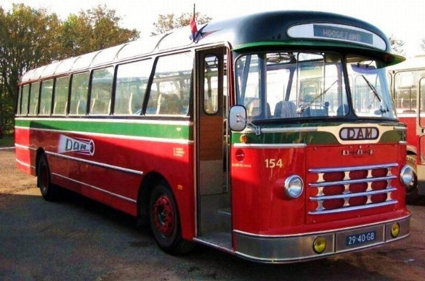 1965 DAF TB 160 DD 530, 6 cylinder, 83kW Smit