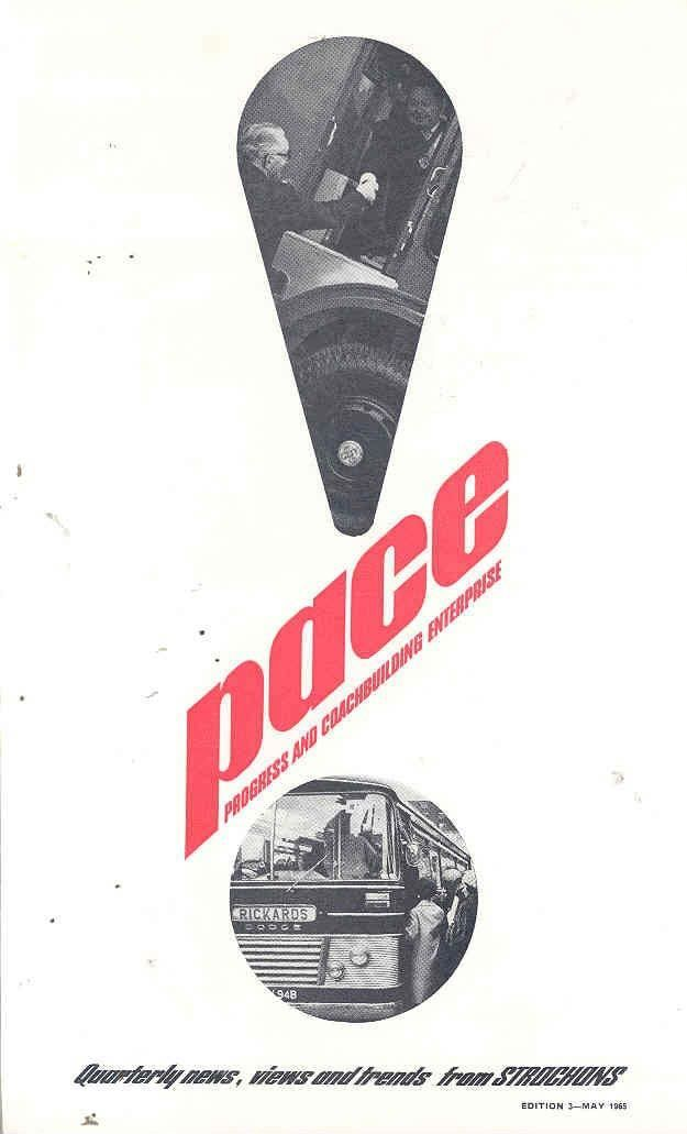 1965 Dodge BMC Scammell Strachans Bus Brochure