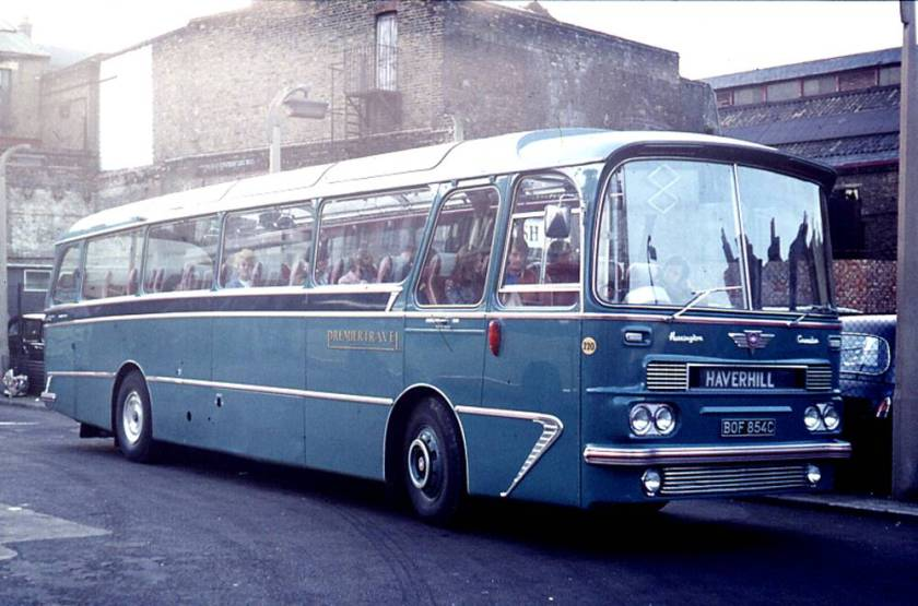 1965 Harrington Grenadier C51F bodied AEC 2U3RA Reliance a