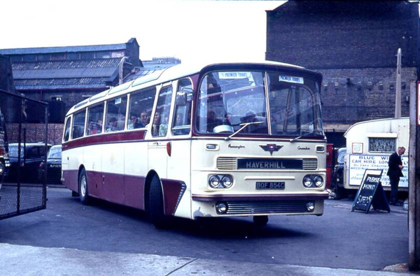1965 Harrington Grenadier C51F bodied AEC 2U3RA Reliance