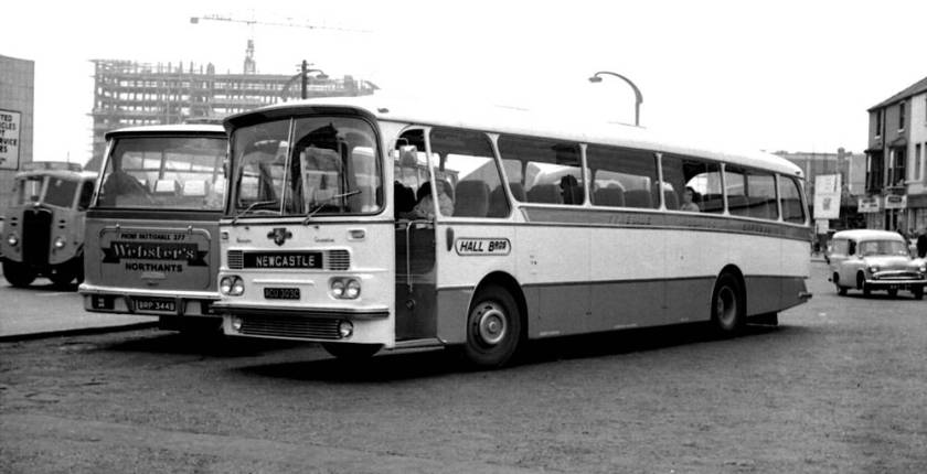 1965 Harrington Grenadier C51F bodied Leyland PSU3-3R Leopard