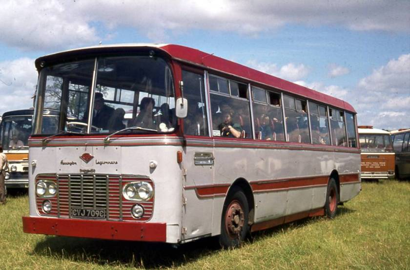 1965 Harrington Legionnaire C45F bodied Guy Victory, CVJ709C
