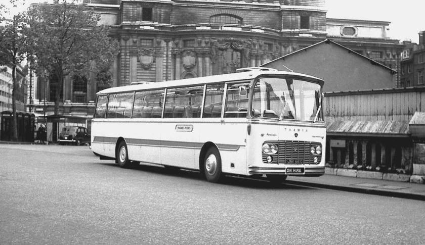 1965 Harrington Legionnaire II C52F bodied Ford 676E Thames