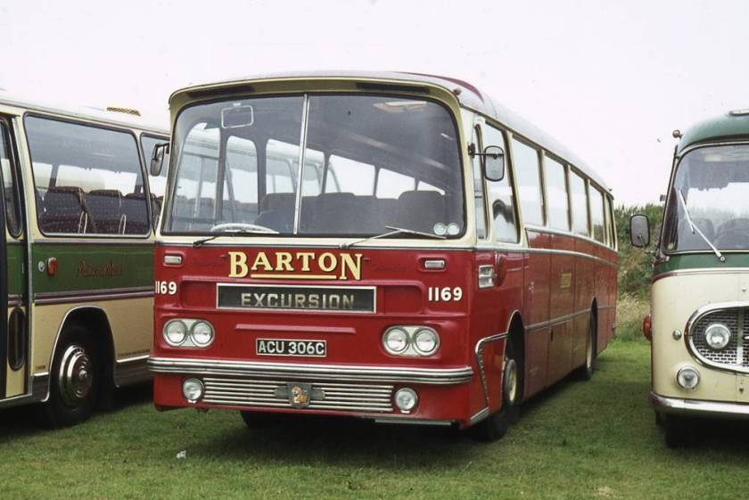 1965 Leyland Leopard PSU3-3R with Harrington Grenadier C51F bodywork