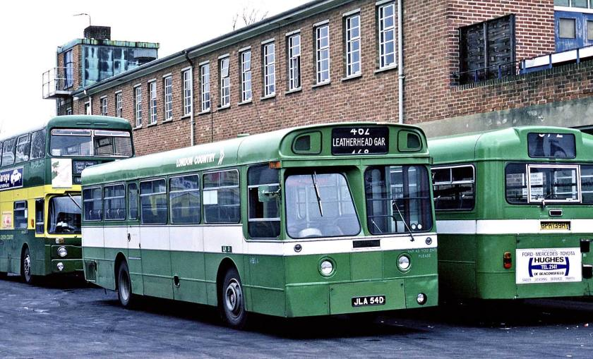 1966 AEC Merlin P2R Strachan B25D originally London Transport XMS4