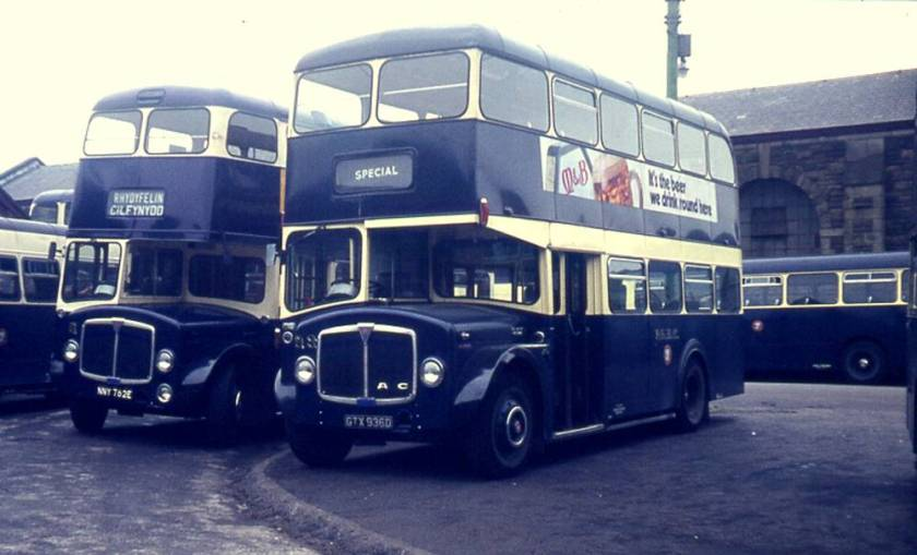 1966 AEC Regent V with Longwell Green H34-26F body