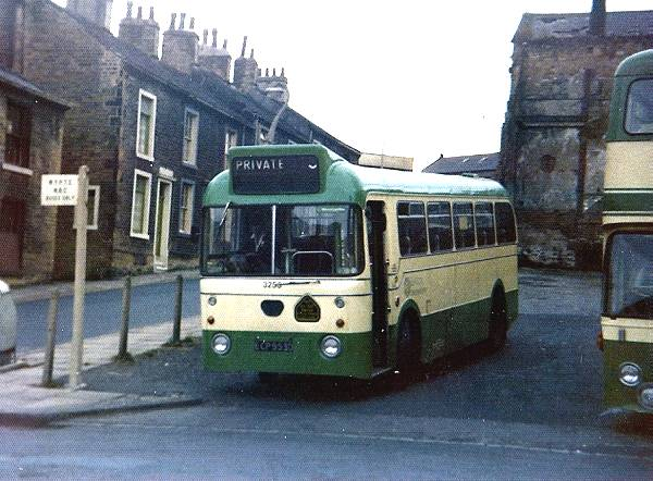1966 AEC Reliances with Pennine bodywork